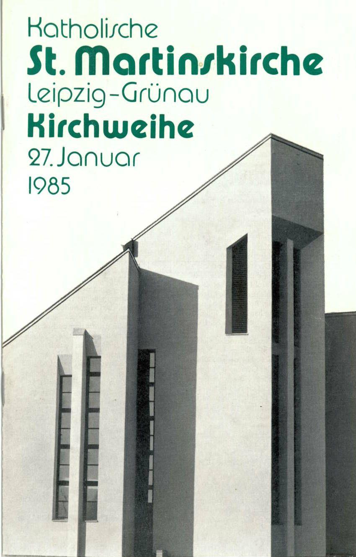 Kirchweihe von St. Martin, 27. Januar 1985